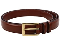 Torino Leather Co. Big And Tall 30Mm Antigua Leather Saddle Brown Men's Belts