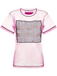 Viktor And Rolf I'm With Stupid Sheer T Shirt 60