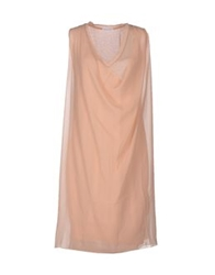 Stefano Mortari Short Dresses Light Pink