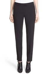 Lafayette 148 New York Women's 'Irving' Stretch Wool Pants Black