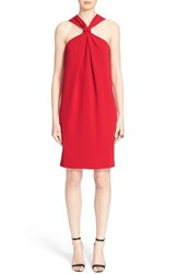 Women's St. John Collection Classic Cady Halter Dress