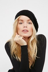 Free People Womens Spring Fling Knit Beret
