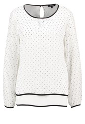 More And More Blouse Offwhite Black