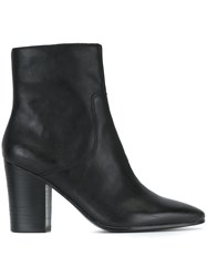 Ash 'Kate' Ankle Boots Black