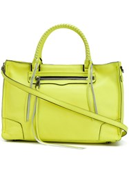 Rebecca Minkoff Regan Satchel Tote Women Leather One Size Yellow Orange