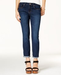 Jessica Simpson Juniors' Forever Cropped Royal Wash Skinny Jeans Royal Royal
