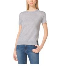 Michael Michael Kors Short Sleeve Cashmere Blend Sweater