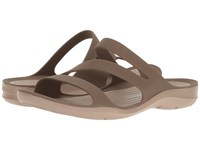 Crocs Swiftwater Sandal Walnut Women's Sandals Brown
