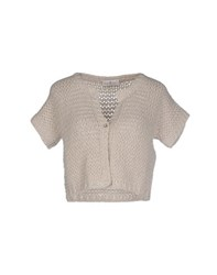 Della Ciana Knitwear Cardigans Women Light Grey