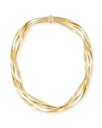 Marrakech 18K Three Strand Necklace Marco Bicego
