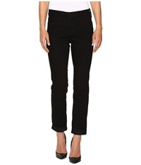Nydj Sylvia Relaxed Boyfriend In Future Fit Denim In Bloomsbury Bloomsbury Women's Jeans Black