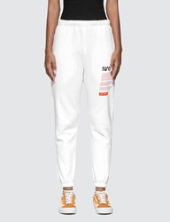 Heron Preston Nasa Track Pants White