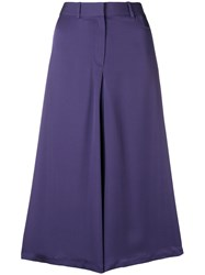 Theory A Lyne Mid Skirt Pink And Purple