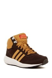 Adidas Cloudfoam Race Winter Mid Sneaker Brown