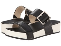 Dr. Scholl's Frill Original Collection Black Leather Women's Sandals