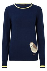 Sugarhill Boutique Nita Birdie Jumper Navy