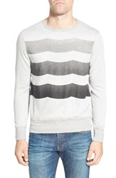 Men's Sol Angeles 'Waves' Print Crewneck Sweatshirt