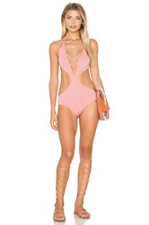 Rachel Pally Melbourne Maillot One Piece Pink