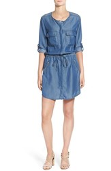 Women's Kut From The Kloth 'Aubrey' Chambray Shirtdress