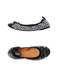 Cafe'noir Cafenoir Ballet Flats Light Grey