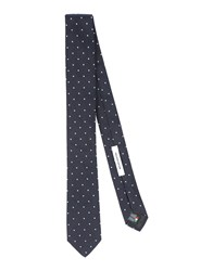 Mauro Grifoni Accessories Ties Men Dark Blue
