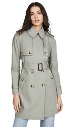 Club Monaco Matie Trench Jacket Sage