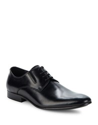 Kenneth Cole Leather Lace Up Oxfords Black