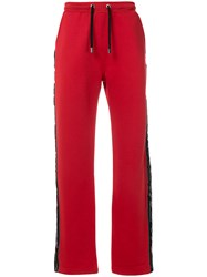 Blood Brother Portal Joggers Red