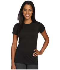 Arc'teryx Phase Sl Crew Short Sleeve Black Women's Clothing