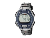 Timex Ironman Classic 50 Full Size Black Silver Tone Blue Watches