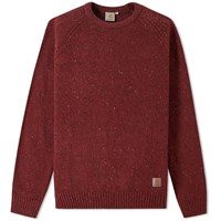 Carhartt Anglistic Crew Knit Red