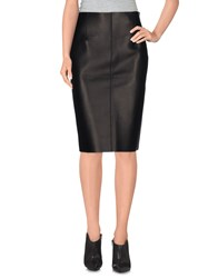 Dsquared2 Skirts Knee Length Skirts Women Black
