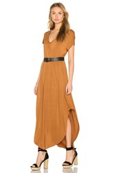 Nytt Zelda Maxi Dress Tan