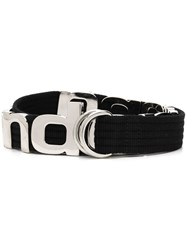 Alexander Wang Letters Belt Black