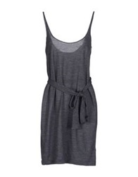 Hamish Morrow Short Dresses Grey