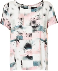 Soaked In Luxury Spray Paint Top Multi Coloured