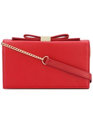 See By Chloe 'Nora' Bow Bag Women Calf Leather One Size Red