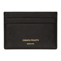 Common Projects Woman By Black Saffiano Card Holder