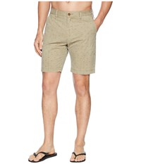 Vissla Suns Up Hybrid Walkshorts Khaki