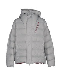 Club Des Sports Down Jackets Light Grey