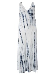 Dorothy Perkins Juna Rose Curve White Tie Dye Maxi Dress