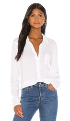 Michael Stars Harley Button Down In White.