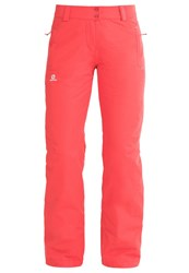 Salomon Stormspotter Waterproof Trousers Infrared