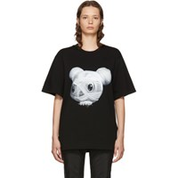 Juun.J Black Mouse Mummy T Shirt