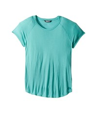 The North Face Versitas Short Sleeve Top Agate Green Women's Short Sleeve Pullover