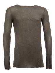 Masnada Fitted Jumper Grey