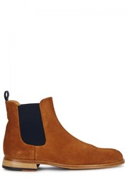 Oliver Sweeney Triste Brown Suede Chelsea Boots Tan