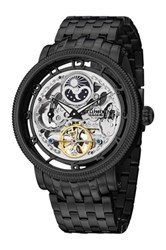 Stuhrling Men's Symphony Dt Watch Black