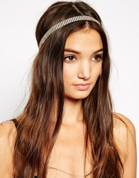 Paper Dolls Chain Headband Gold