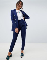 Amy Lynn Tailored Trouser Navy